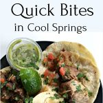 Quick Bites in Cool Springs from Spinach Tiger