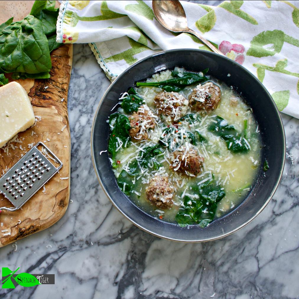 Wedding Soup: Italian Wedding Soup (Keto, Paleo Friendly)