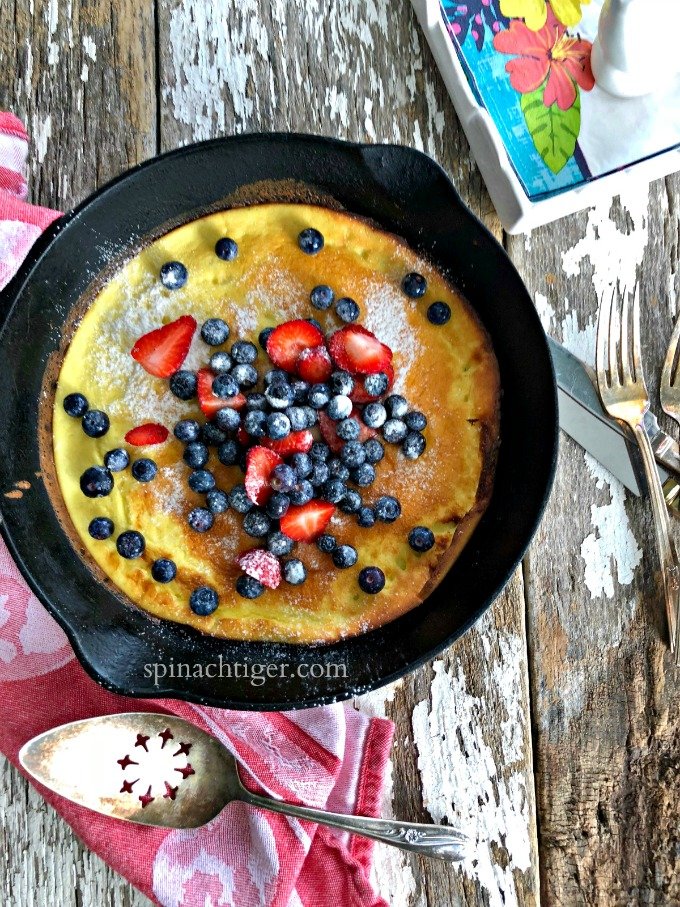 Grain Free Dutch Baby from My Favorite 2018 Recipes from Spinach Tiger
