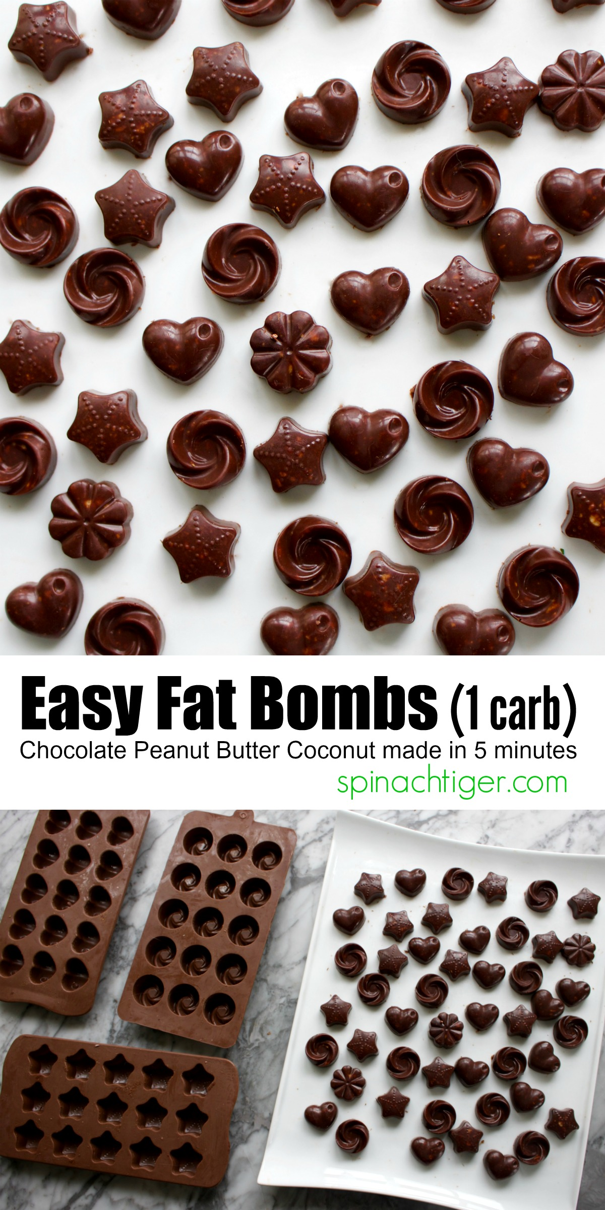 How to Make Easy Fat Bombs from Spinach Tiger