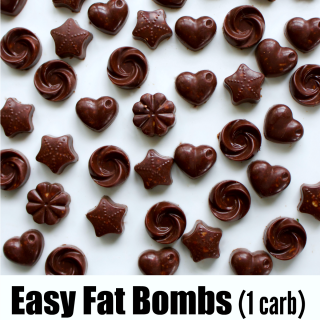 Easy Fat Bombs and How to Measure Peanut Butter