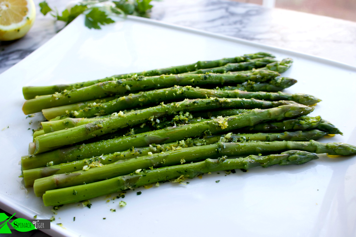 Detox with Asparagus Gremolata