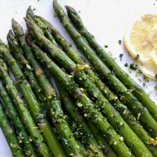 Asparagus Gremolata and the Detox Benefits