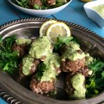 Greek Feta Lamb Meatballs