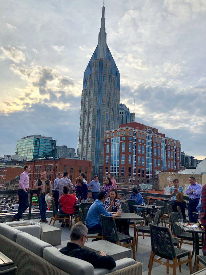 Roof Top at Nashville Underground from Spinach Tiger