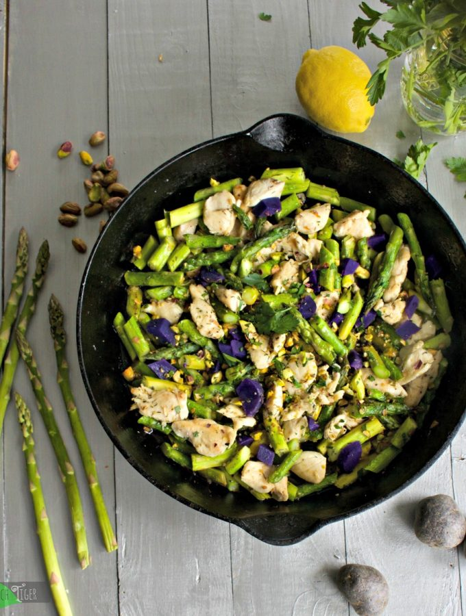 Chicken & Asparagus Stir Fry Recipe from Spinach Tiger