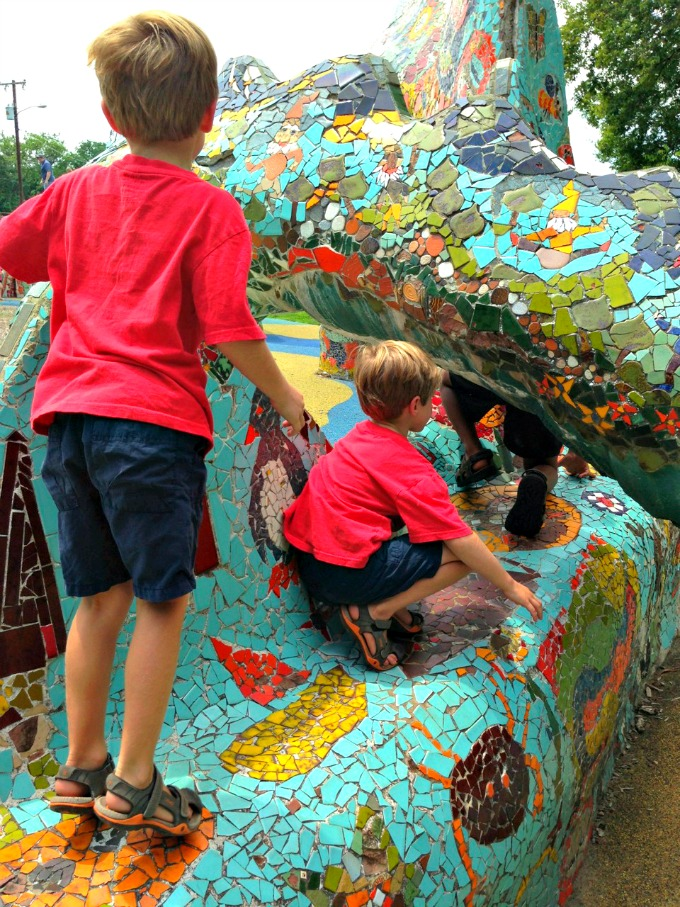 Fannie May Dees Dragon Park Where to go, What to do in Nashville for Family Fun from Spinach Tiger