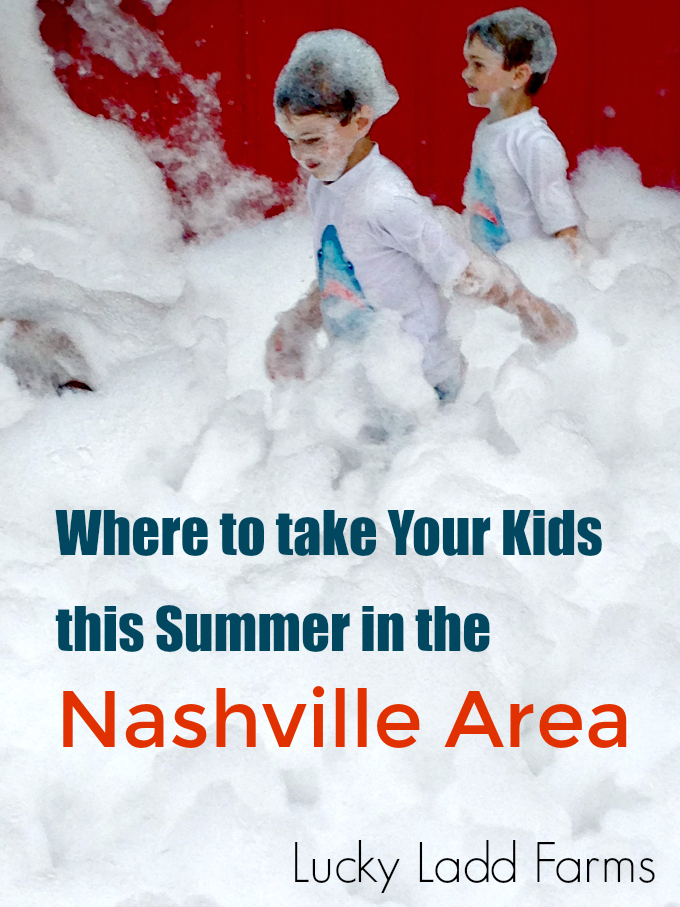 Lucky Ladd Farms Where to go, What to do in Nashville for Family Fun from Spinach Tiger