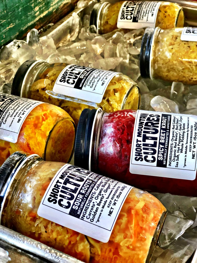 Fermented Food at Why I love the Franklin Farmer's Market, Franklin TN from Spinach Tiger