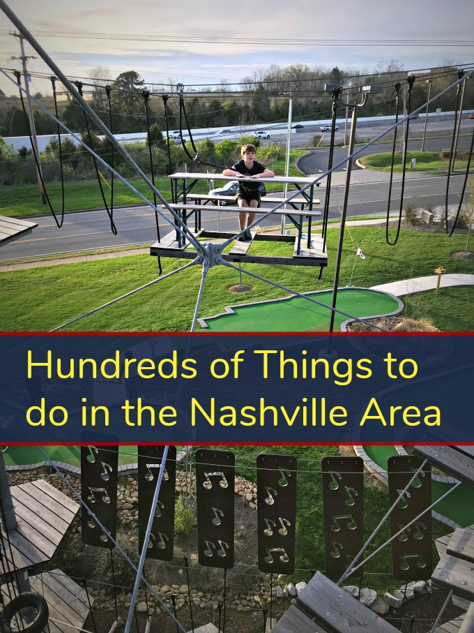 Soar Adventure Where to go, What to do in Nashville for Family Fun from Spinach Tiger