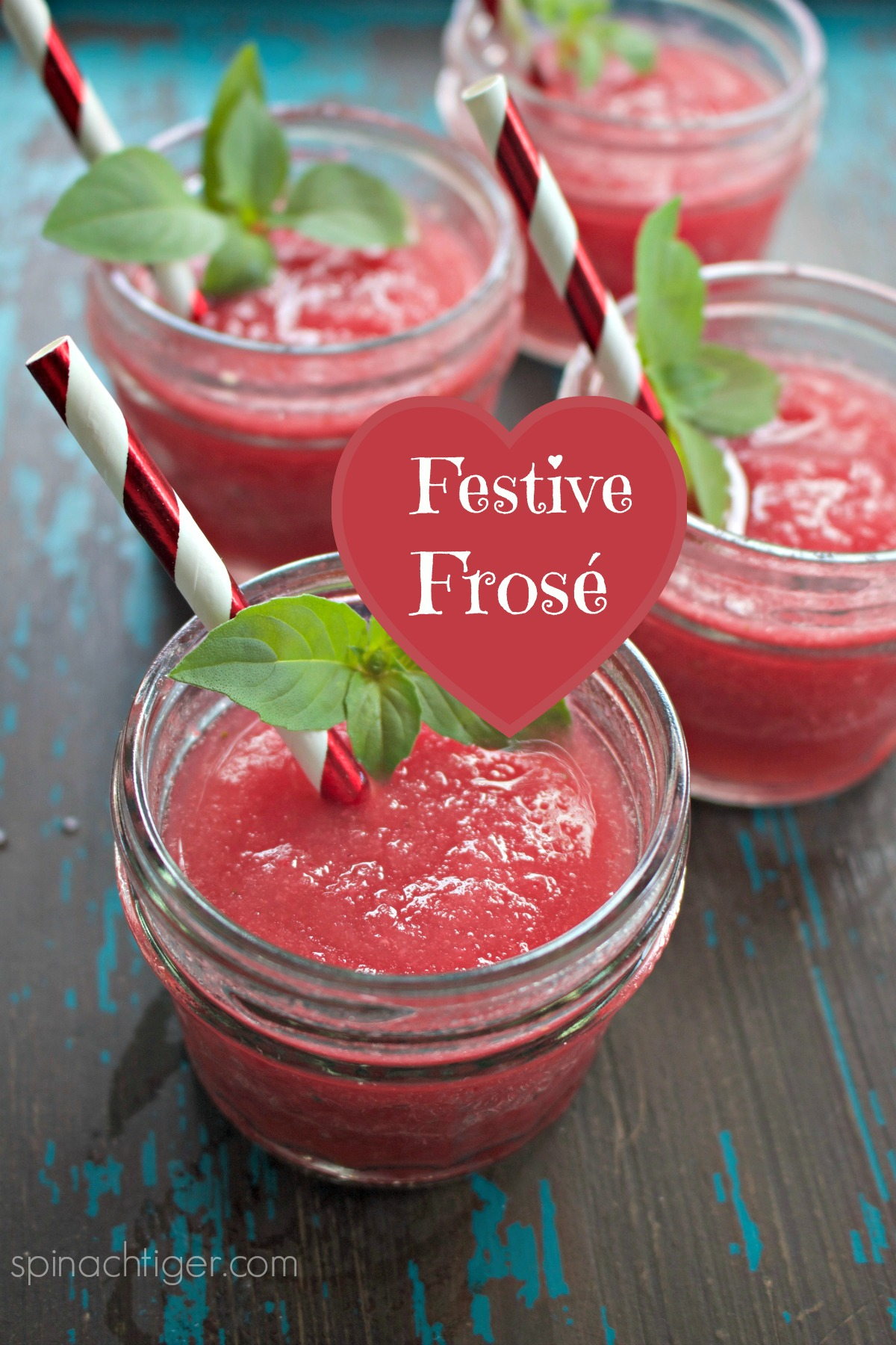 Make the perfect frose, a Frozen Rose with strawberries and raspberry syrup. So refreshing. #Frose via @angelaroberts