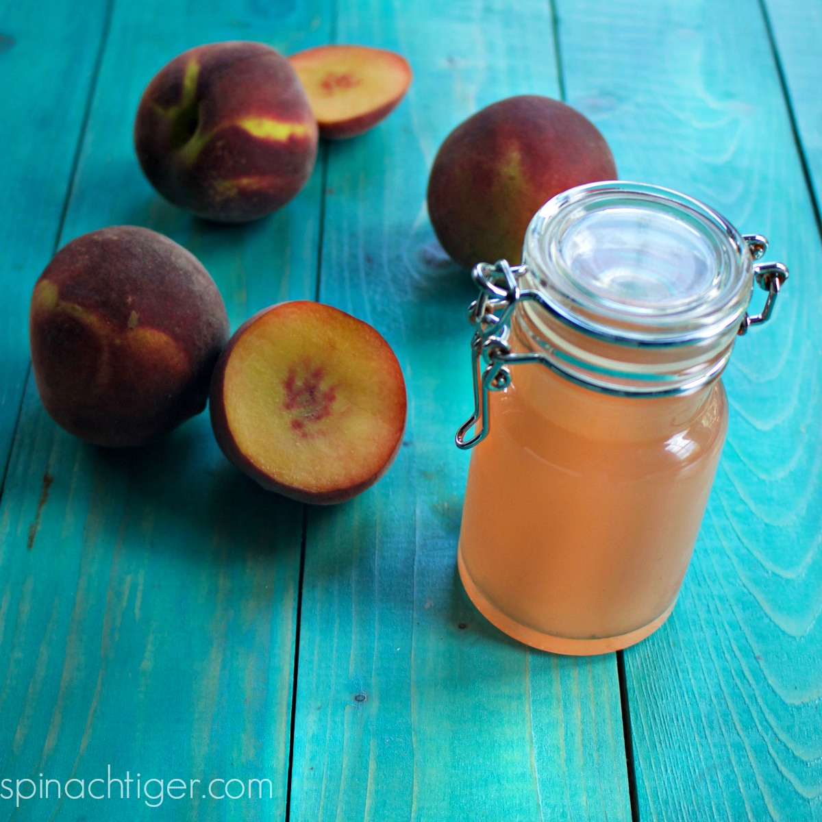 How To Make Peach Simple Syrup For Cocktails Baking Sugar Free Option