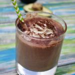 Low Carb Chocolate Smoothie from spinachtiger