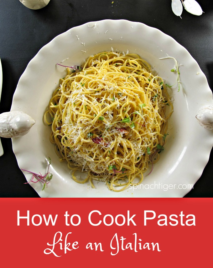 How to Cook Pasta Like an Italian, Al Dente #pasta #Italian #cookpasta #spaghetti