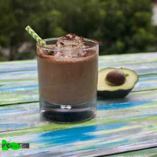 Low Carb Chocolate Smoothie with Avocado (Keto Friendly)