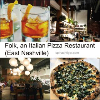 Crushing on Nashville: Folk Restaurant, Upscale Wood Burning Pizza in East Nashville