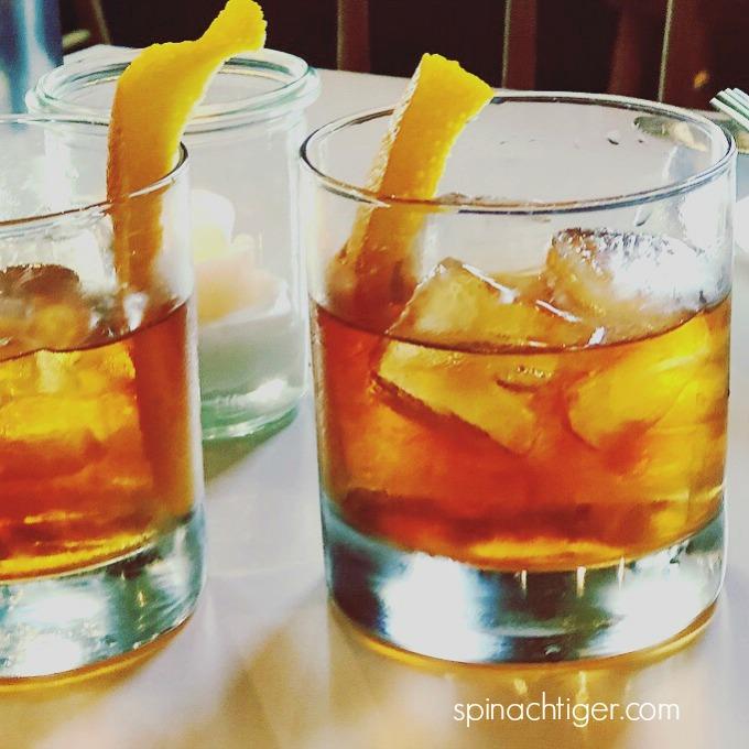 Folk Restaurant Nashville Cocktails from Spinach Tiger