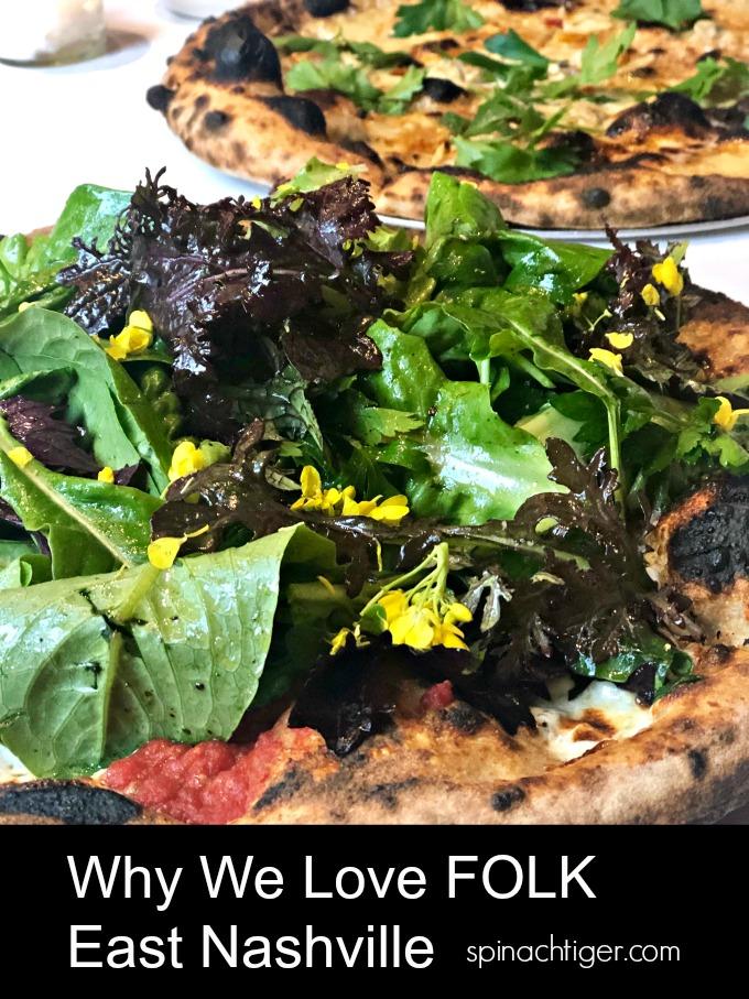 Salad PIzza at Folk