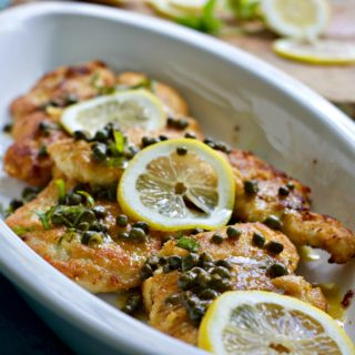 Low Carb Chicken Picatta with Almond Flour (Keto Friendly, Paleo)