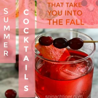 Five Summer Cocktails that Will Take You into Fall