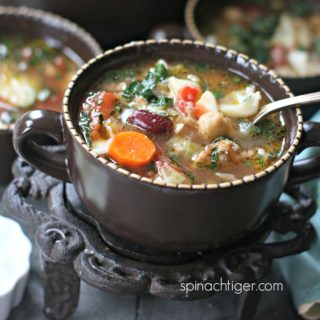 Spicy Italian Soup with Sausage Recipe and Win a Trip to Barcelona