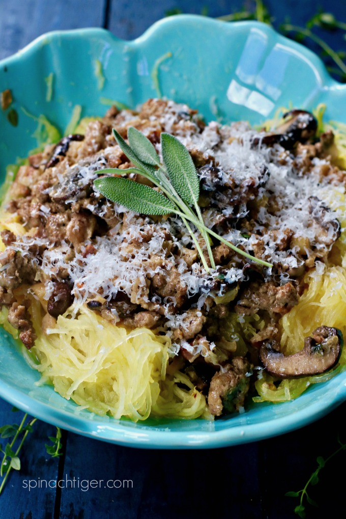 Spaghetti Squash Casserole Recipe From Spinach TIger