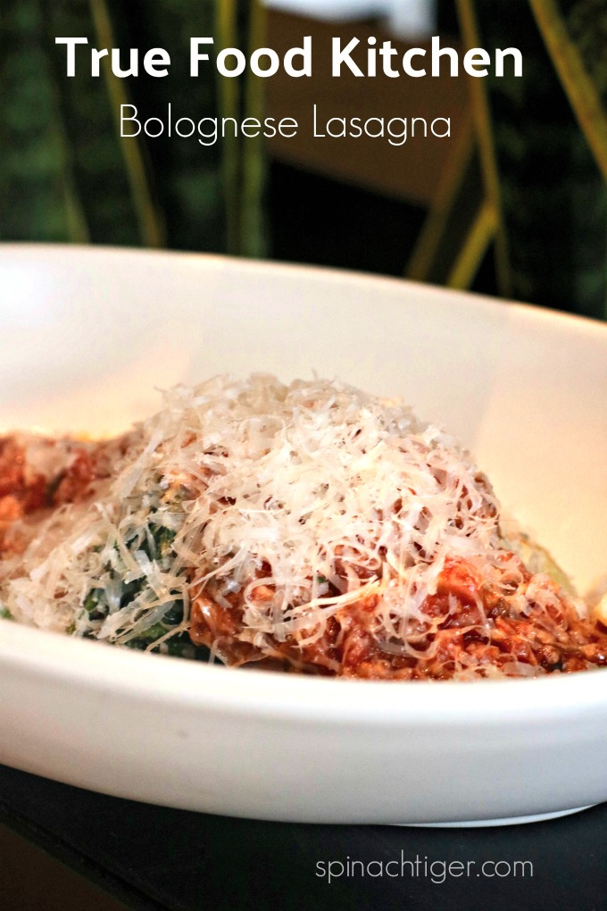 True Food Kitchen Bolognese Lasagna