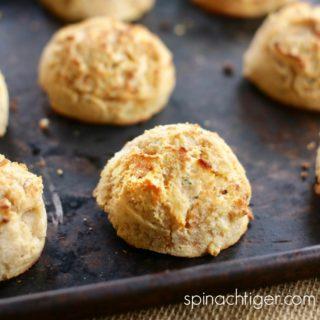 Grain Free Sweet Potato Biscuits (Keto, Paleo)