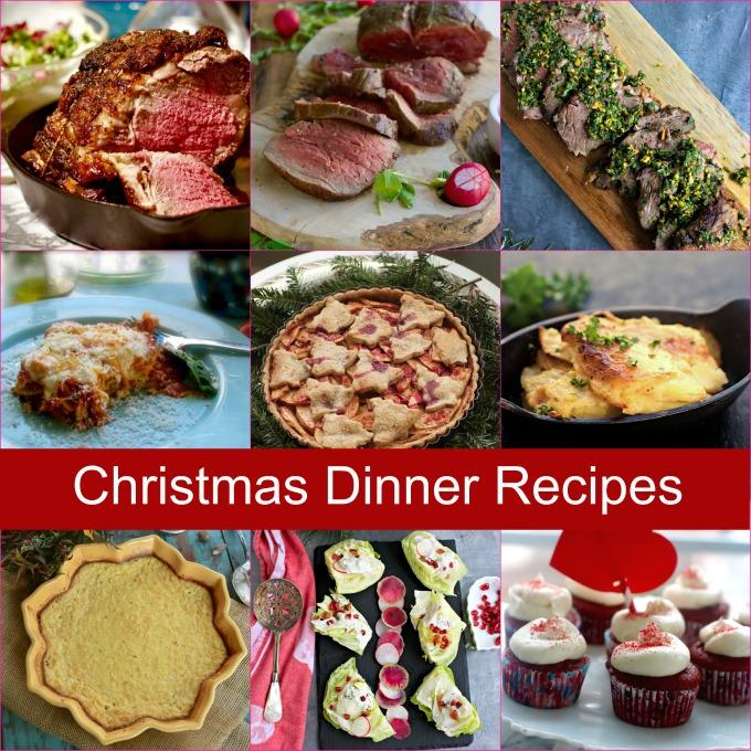 Christmas Dinner Menu Ideas.My Christmas Dinner Ideas From All My Christmas Recipes