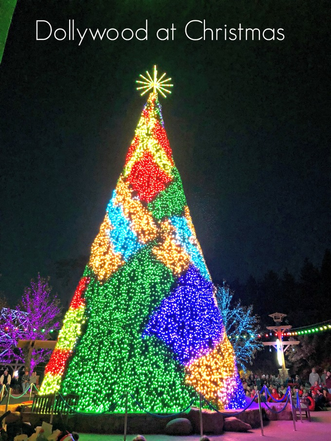 Tree Lighting Christmas at Dollywood