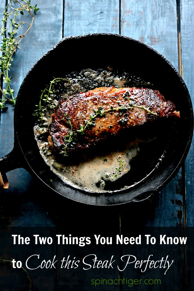 From Stove top to oven, this makes the perfect new york strip steak. The comments tht come in on my number one post, prove you need to try this method. #newyorkstripsteak #castironcooking #spinachtiger via @angelaroberts