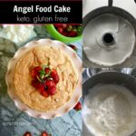 Gluten Free Keto Angel Food Cake Recipe from Spinach Tiger