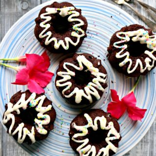 Keto Chocolate Bundt Cakes