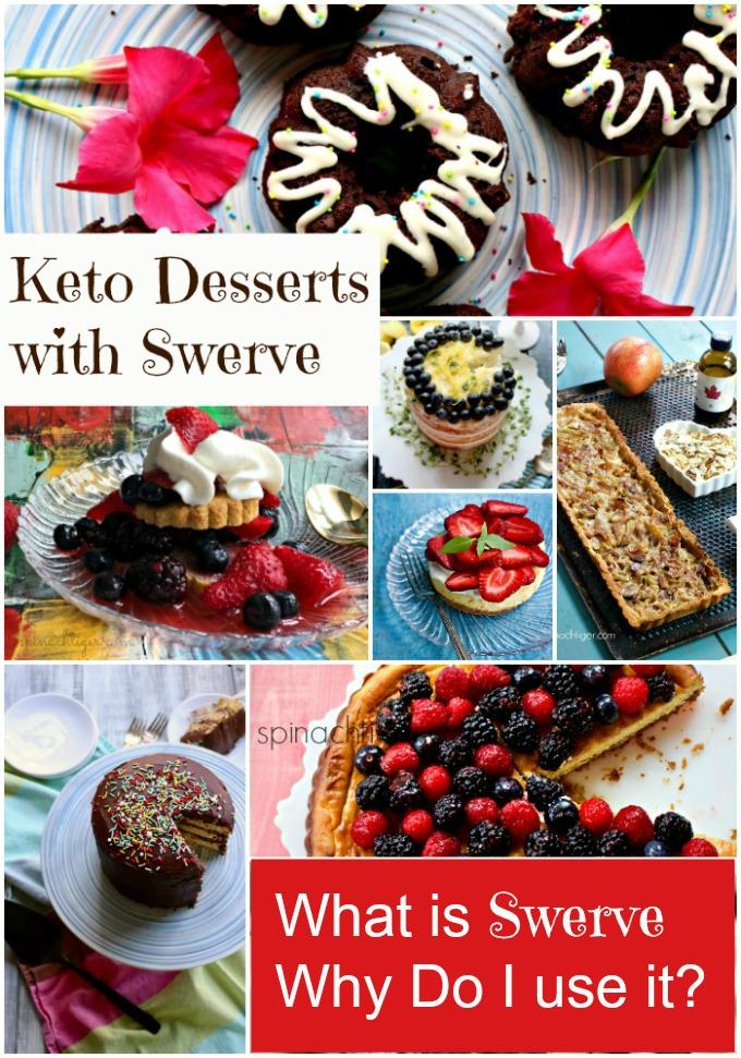 Keto Swerve Sweetened Desserts