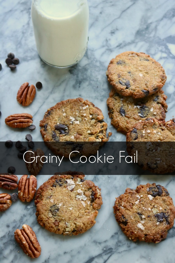 Grainy Chocolate Chip Cookies