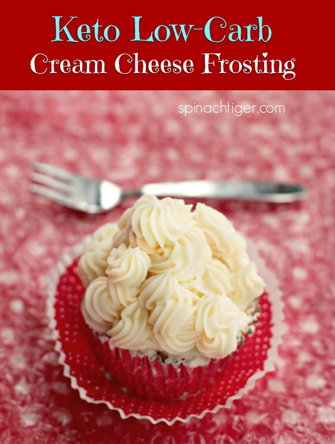 Keto Cream Cheese Frosting