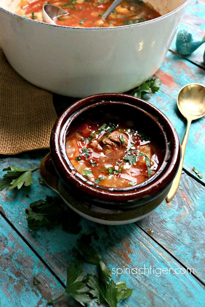 Beef Cabbage Soup