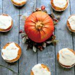 Keto Pumpkin Cupcakes