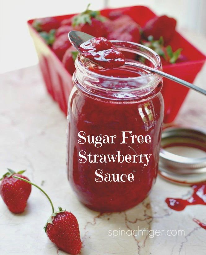 Sugar Free Strawberry Sauce