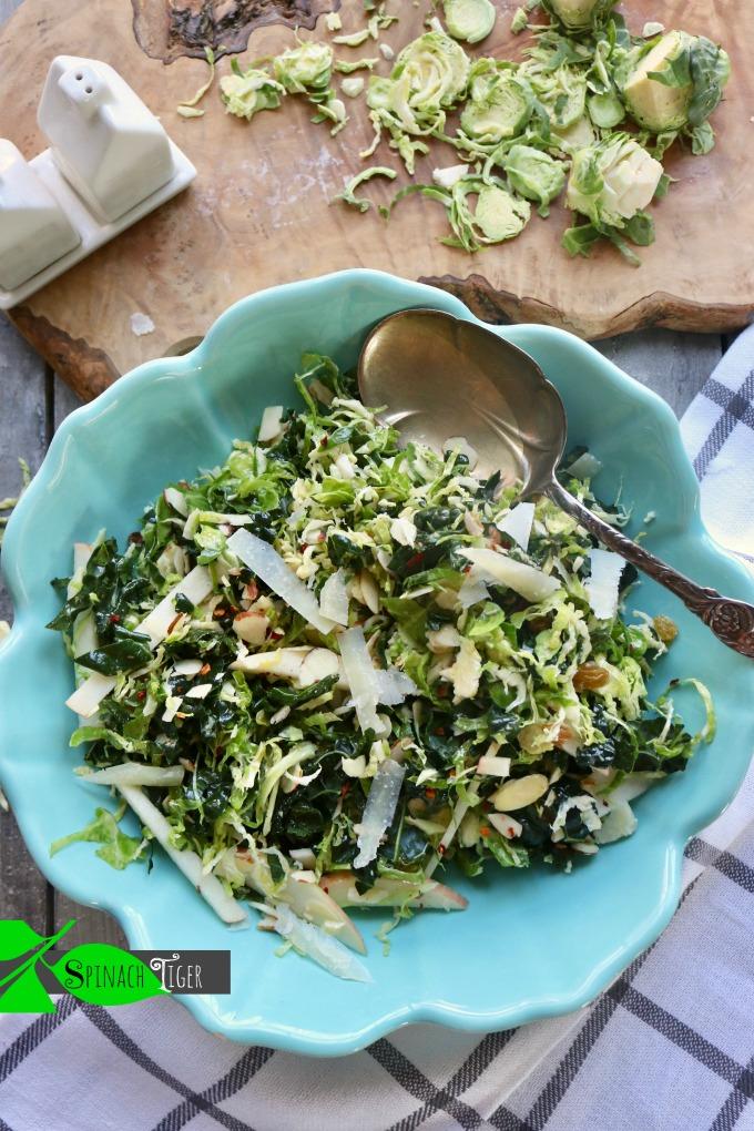 Kale Brussels Salad