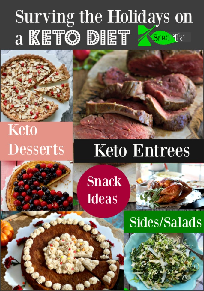 Keto Holiday Recipes from Spinach Tiger