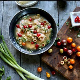Shrimp White Bean Soup