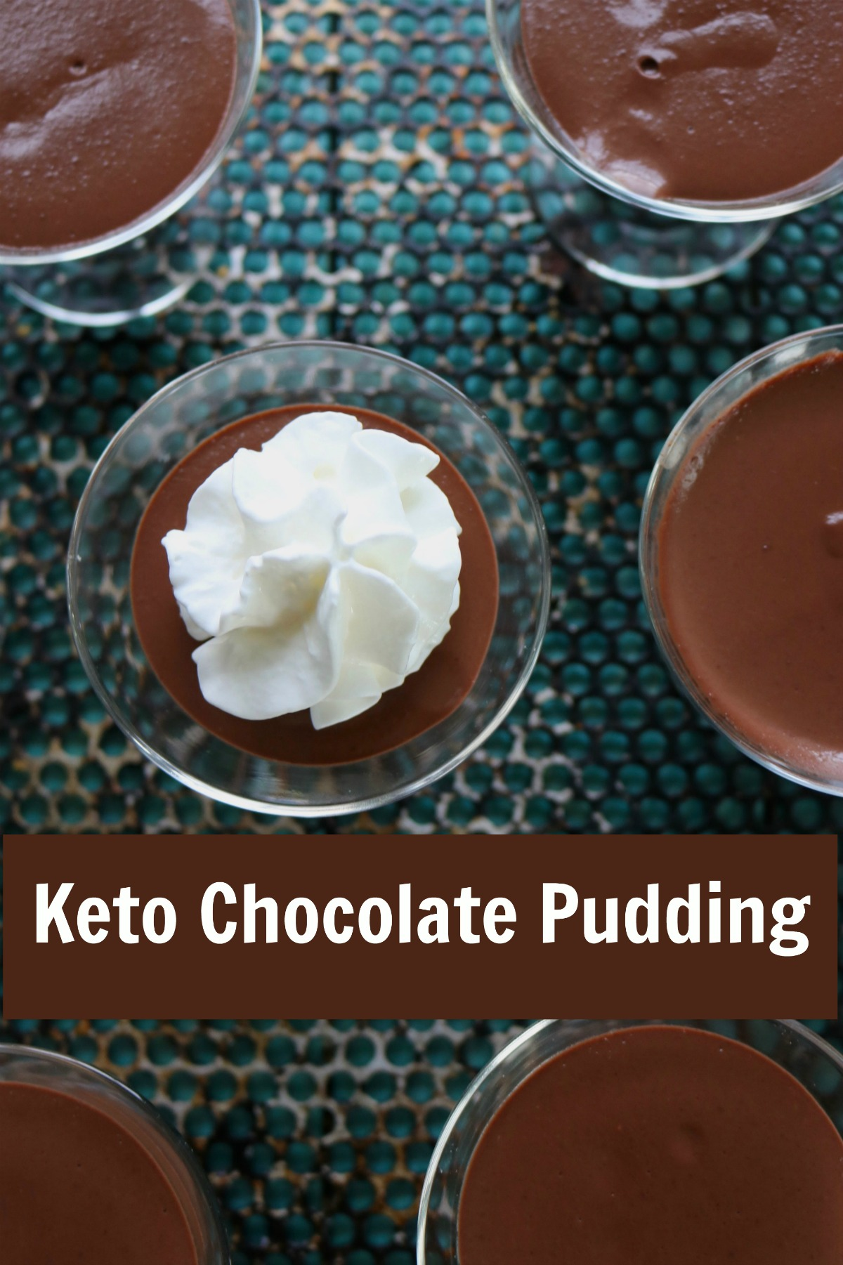 Sugar free chocolate pudding made with Swerve Sweetener, takes you back to childhood. Only 147 calories, 2 net carbs per serving. #lowcarbchoocolatepuddingrecipe #ketochocolatepudding #ketochocolatedessert #spinachtiger via @angelaroberts