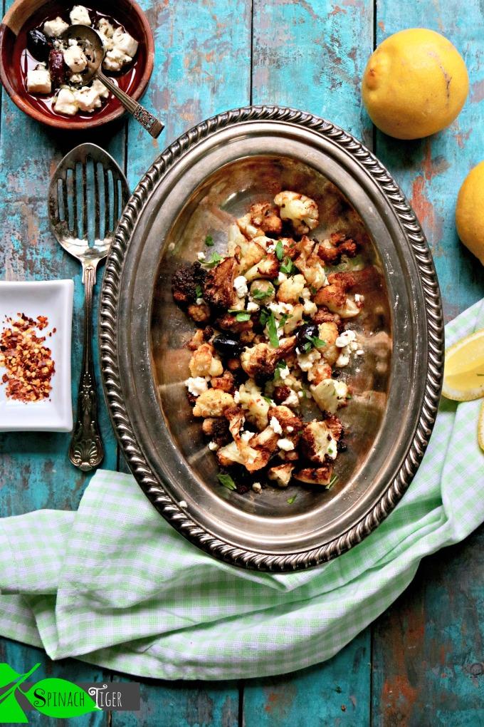 Make Flash Fried Greek Cauliflower with Kalamata Olives, Feta and Lemon