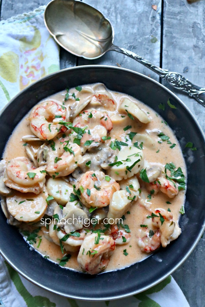 Mixed Seafood Recipe Shrimp and Scallops