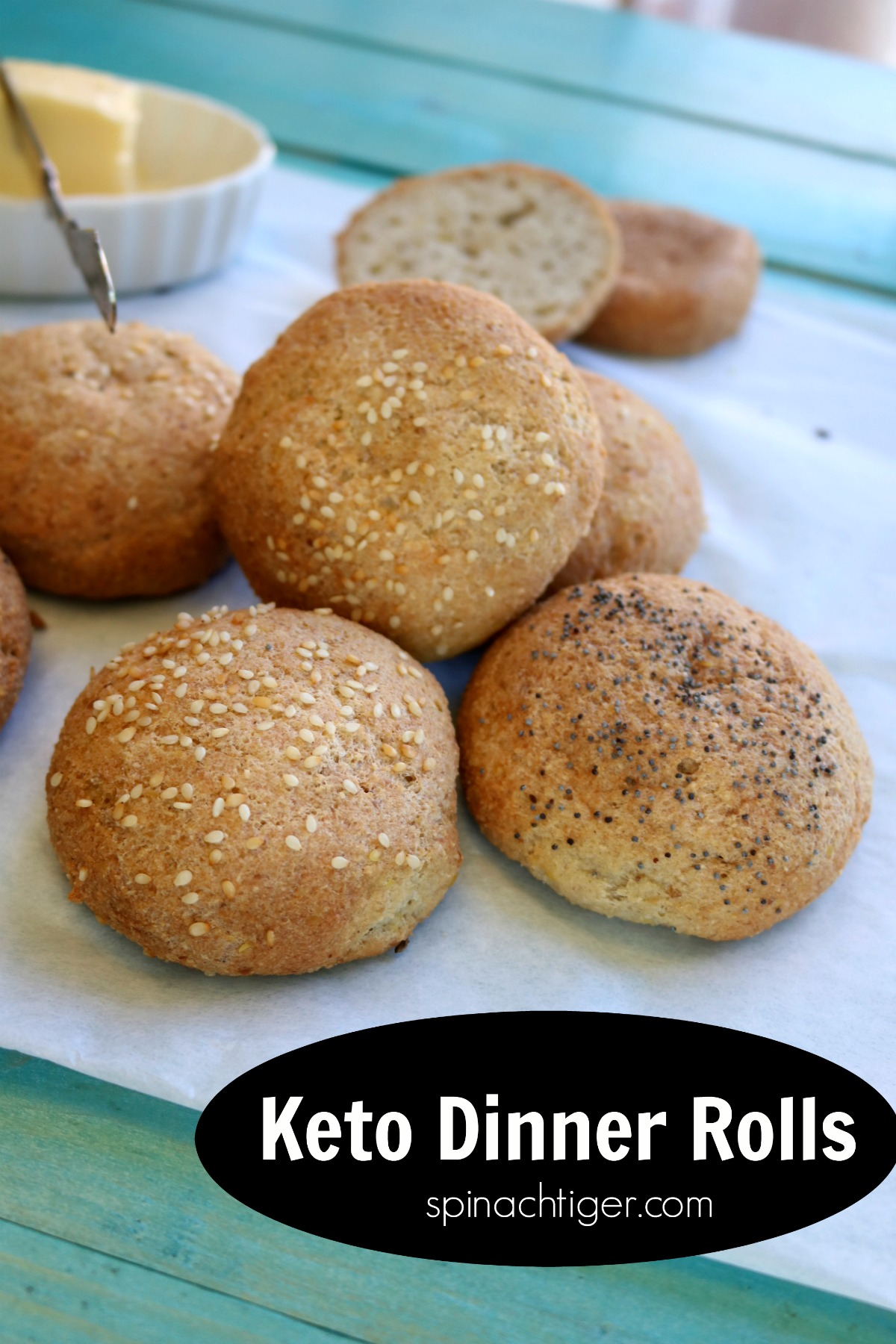 Grain Free Dinner Rolls Recipe Keto Friendly No Yeast