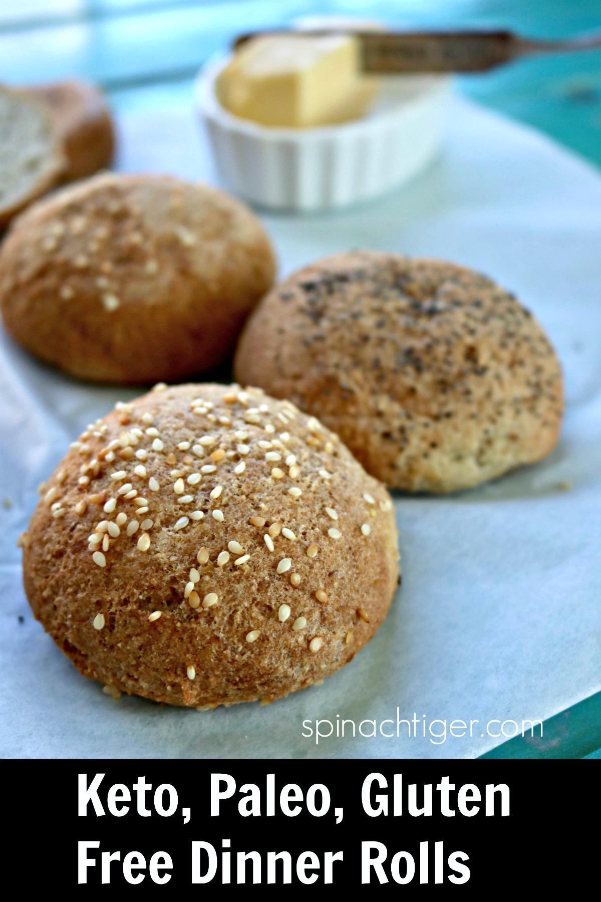 Grain Free Keto Dinner Rolls