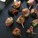 Air Fryer Bacon Wrapped Veggies from Spinach Tiger