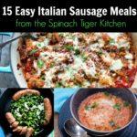Italian Sausage Meals
