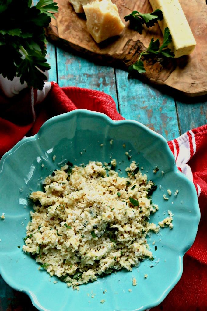 Low Carb Cauliflower Recipes: Cauliflower Risotto